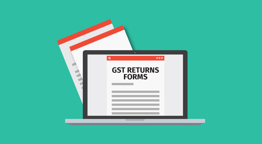 new gst returns forms